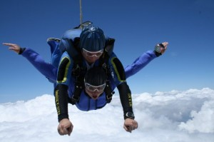 Gina Pacelli Skydiving