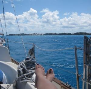 Gina Pacelli in Bermuda