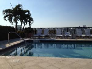 Delray Beach, Florida Rooftop Pool