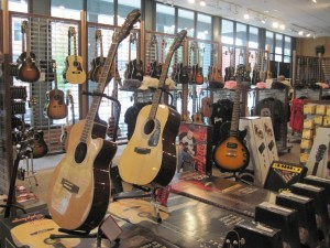 Gibson Guitars in Memphis, Tennessee