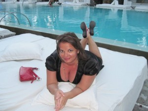 Gina Pacelli at the Delano in South Beach