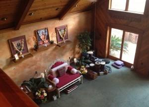 Amrit Yoga Institute Garden in Silver Springs, Florida