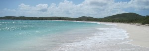 Blue Beach, Vieques, Puerto Rico