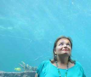 Gina Pacelli in Atlantis, Nassau, Bahamas