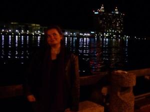 Gina Pacelli in Savannah, Georgia