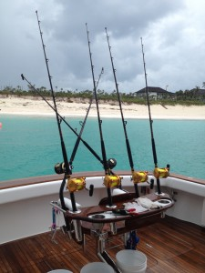 Fishing in Abacos, Bahamas