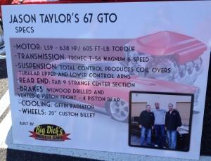 Jason Taylor's 67 GTO