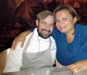Louis DiBiccari and Gina Pacelli at Tavern Road in Boston