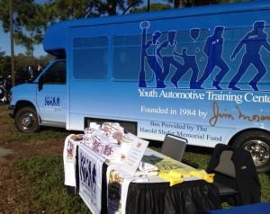 Youth Automotive Training Center Bus