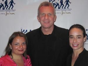 Gina Pacelli, Joe Montana and Leann