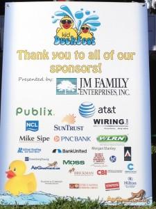 Duck Fest Derby Sponsors