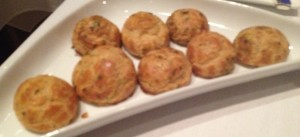 Asiate Cheese and Herb Pastry Puffs