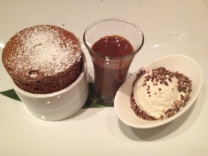 Asiate Chocolate Souffle