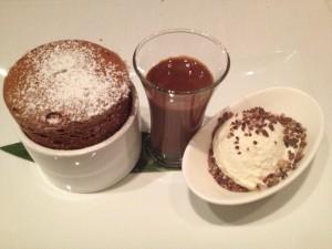 Asiate Chocolate Souffle
