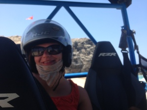 Gina Pacelli Off Roading in Cabo