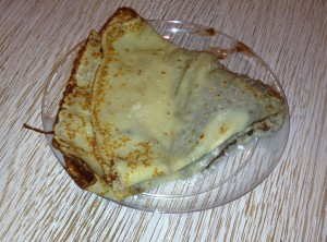 Nutella Crepe at Eataly