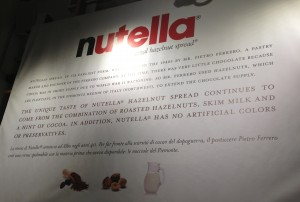 Nutella, Eataly, NYC