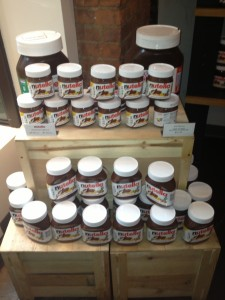 Nutella, Eataly in NYC