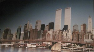 Twin Towers Just Before the September 11 Attacks