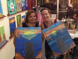 Gina & Irene, Vino Van Gogh