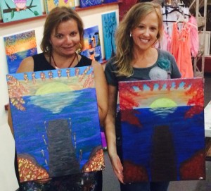 Gina & Stephanie, Vino Van Gogh