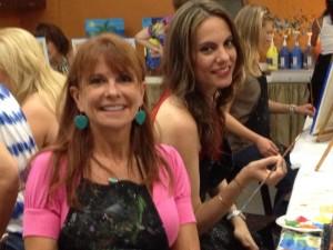 Lori & Cynthia, Vino Van Gogh