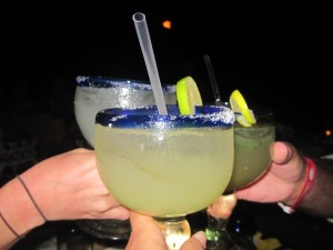 Margaritas at The Office, Cabo, Mexico