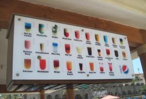 Royal Solaris Cocktails