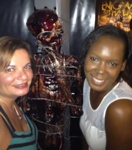 Gina Pacelli and Sabrina at Enigma Haunt