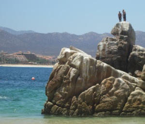 Rock Jumping in Cabo