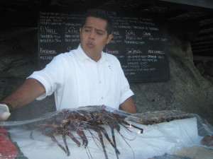 El Farallon, Cabo Mexico Food
