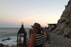 Cabo: El Farallon, a Restaurant in a Mountain