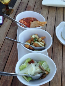 Seafood Appetizers at El Farallon, Cabo, Mexico