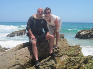 Brian and L in Cabo, Mexico