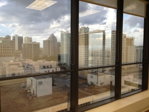 Downtown Fort Lauderdale View from Empire Executive Offices