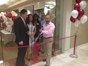 Ribbon Cutting at Empire Executive Offices