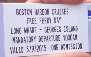 Boston Harbor Cruise Ferry Ticket
