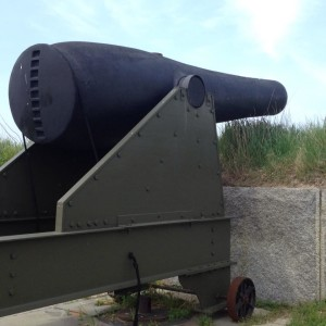 Cannon at Fort Warren