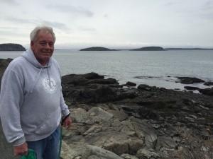 Nice Man in Bar Harbor Maine