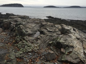 Rocks and Water, Bar Harbor, Maine