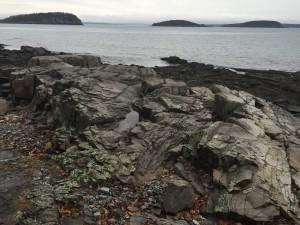 Rocks and Water, Bar Harbor, Maine