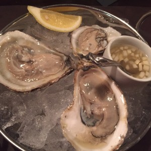 Blue Point Oysters at Zinc New Haven