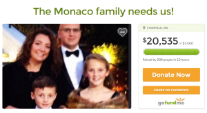 The Monaco family needs us!