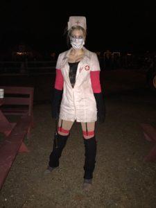 Halloween Nurse at Hysteria