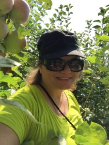 Gina Pacelli at Russell Orchards in Ipswich