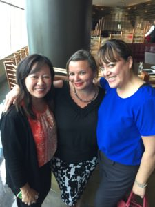 Alison, Gina Pacelli, and Liz at Nest