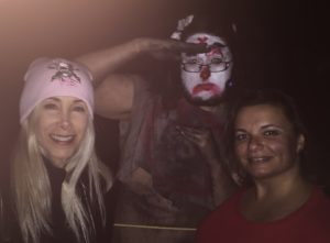 Elaine and Gina Pacelli at Spooky World