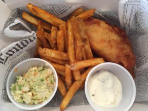 Fish and Chips, On Third Cafe