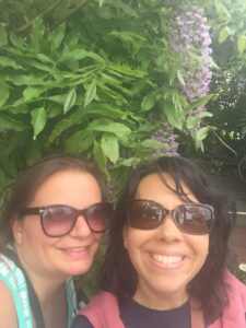 Gina Pacelli and Gisela in Provincetown
