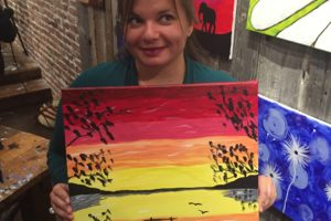 Muse Paintbar in Lynnfield